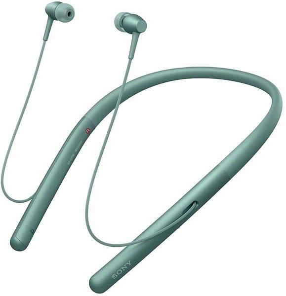 Sony Hi-Res WI-H700 zelená - Bezdrátová sluchátka