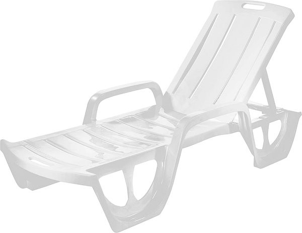 Curver deck FLORIDA - white - Garden lounger