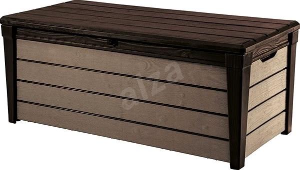 8b69b498f KETER BRUSHWOOD BOX 455L hnědá - Úložný box | Alza.cz