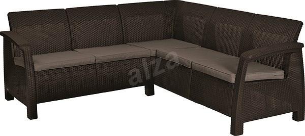 ALLIBERT CORFU RELAX, Brown - Garden Furniture