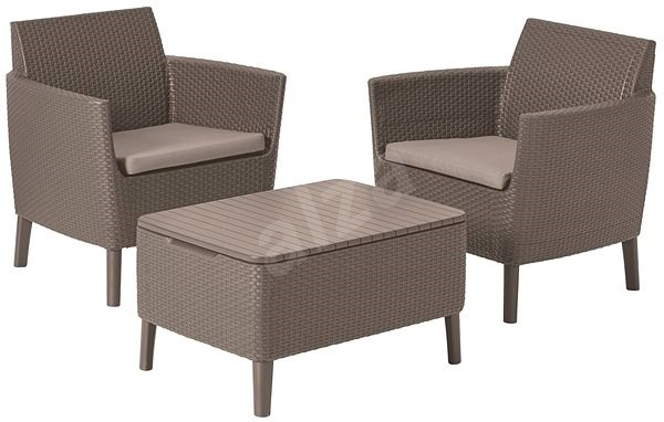 ALLIBERT SALEMO BALCONY, Cappucino - Garden Furniture