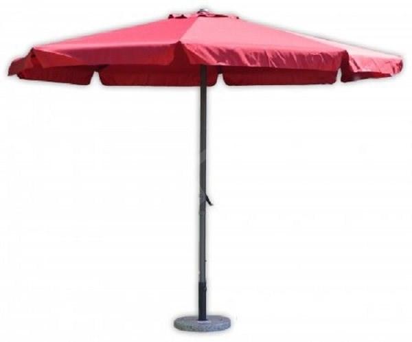 ROJAPLAST Parasol STANDART 4m (8010S) Claret - Sun umbrella