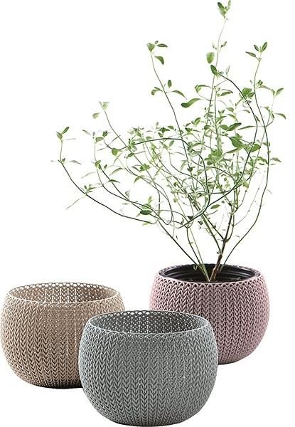 KETER Květináč COZIES TRIO - Květináč