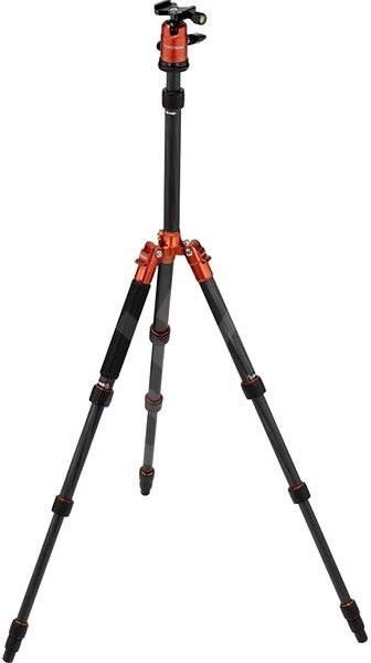 Rollei Compact Traveler No.1 Karbon - oranžový - Stativ