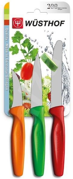 WÜSTHOF Nože sada 3ks, různé barvy - Sada nožů