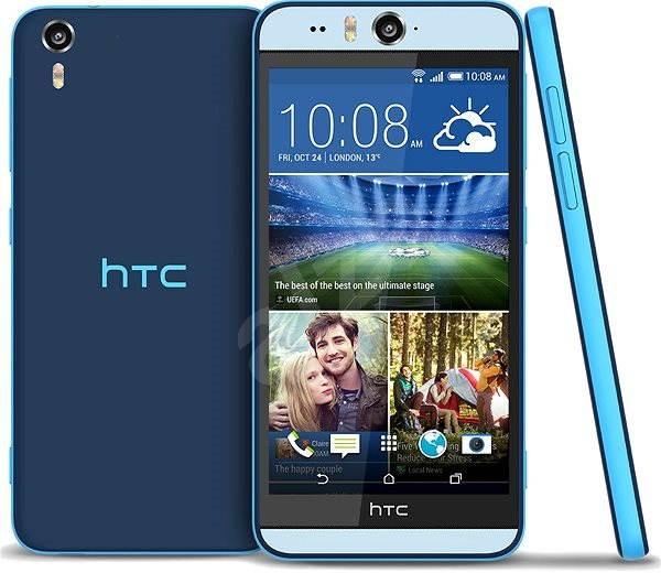 HTC Desire EYE Blue - Mobilní telefon