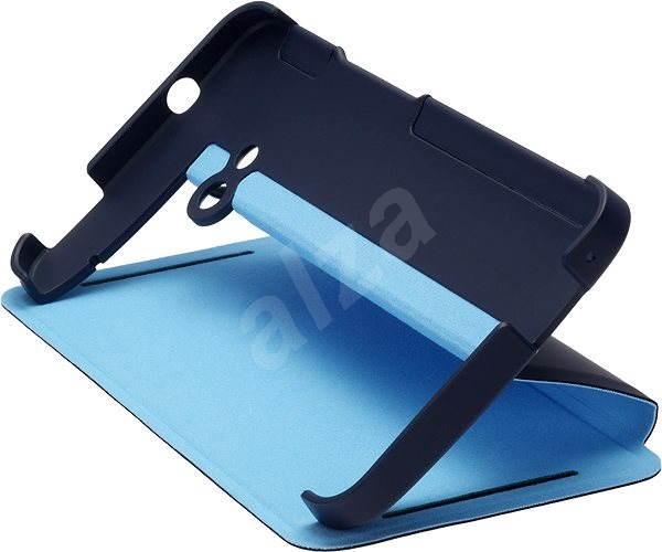 HTC HC V841 Flip Case with Stand Blue - Ochranný kryt