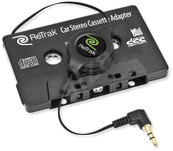 RETRAK audio stereo kazetový adaptér 1.2m - Audio kabel