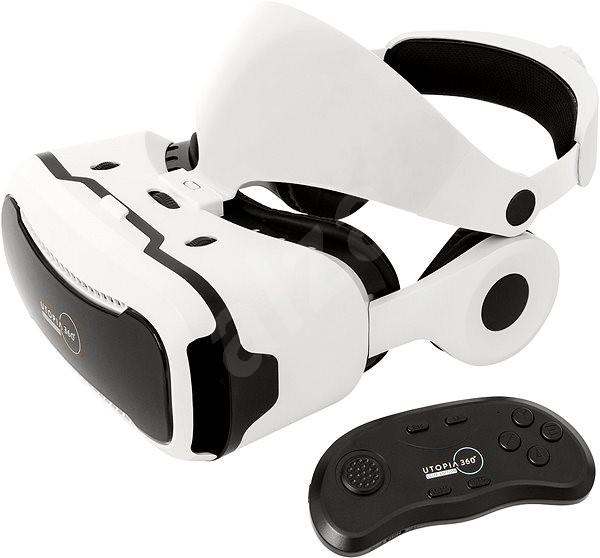 286bcbee5 Retrak Utopia 360° VR Elite Edition + ovladač + sluchátka - Brýle pro virtuální  realitu