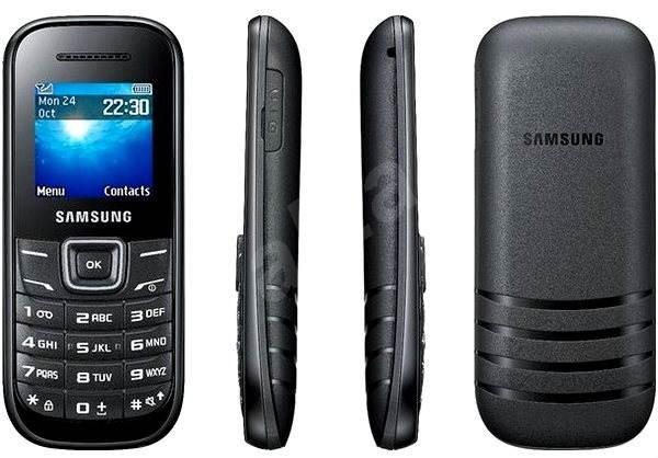 Samsung E1200R Black - Mobilní telefon