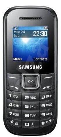 Samsung Keystone 2 (E1200) Black - Mobilní telefon