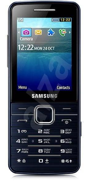 Samsung S5611 Black - Mobilní telefon