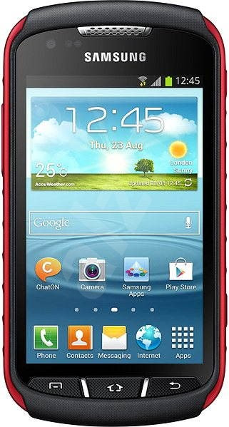 Samsung Galaxy Xcover 2 (S7710) Black Red - Mobilní telefon