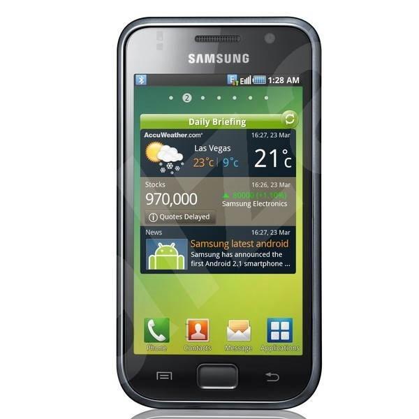 Samsung Galaxy S (i9000) Metallic Black - Mobilní telefon