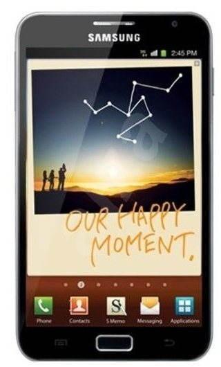 Samsung Galaxy Note (N7000) Dark Blue - Mobilní telefon