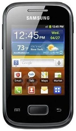 Samsung Galaxy Pocket (S5300) Black - Mobilní telefon