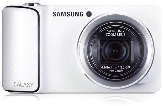 Samsung Galaxy Camera, White - Digitální fotoaparát
