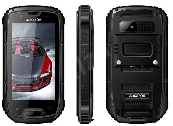 Aligator RX430 eXtremo Dual SIM Black - Mobilní telefon