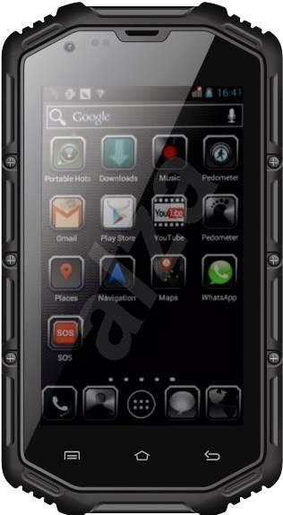 Aligator RX400 eXtremo Dual SIM Black - Mobilní telefon