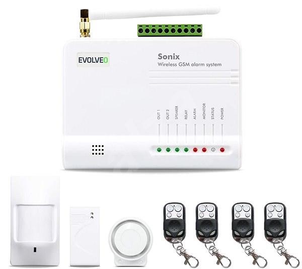 EVOLVEO Sonix - Bezdrátové zabezpečení majetku - Alarm