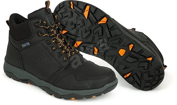FOX Collection Black&Orange Mid Boot Velikost 44 - Outdoorové boty