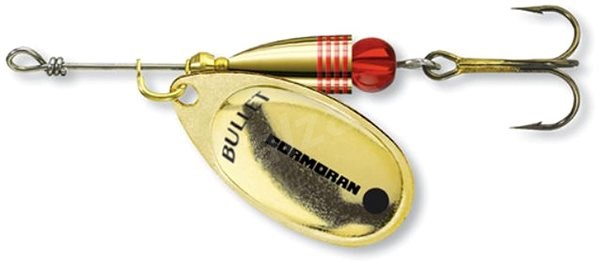 Cormoran Bullet Spinner Velikost 1 3g Gold - Třpytka