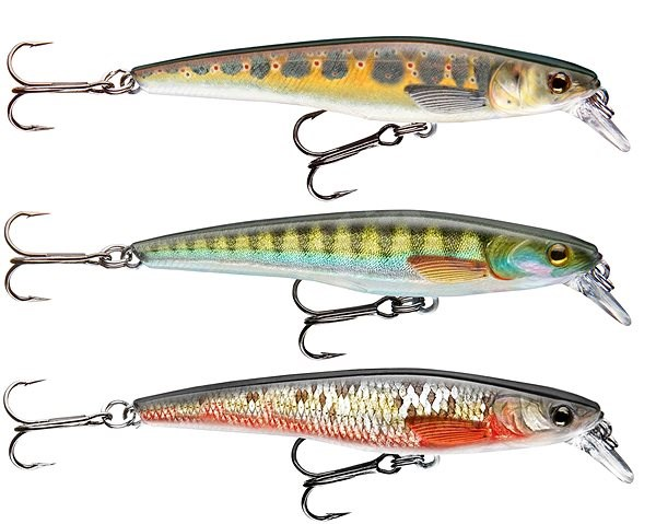 Cormoran Real Fish Lure Set 2 3ks - Wobler
