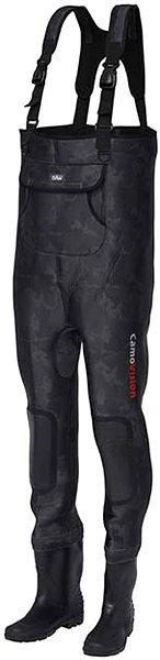 DAM Camovision Neo Chest Wader Cleated Sole Velikost 44/45 - Prsačky