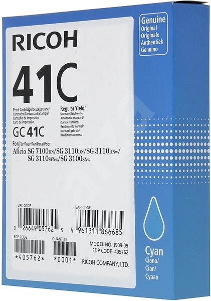 Ricoh GC41C azurový - Toner