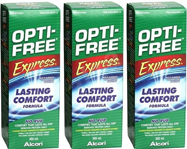 OPTI-FREE Express 3 x 355 ml - Sada