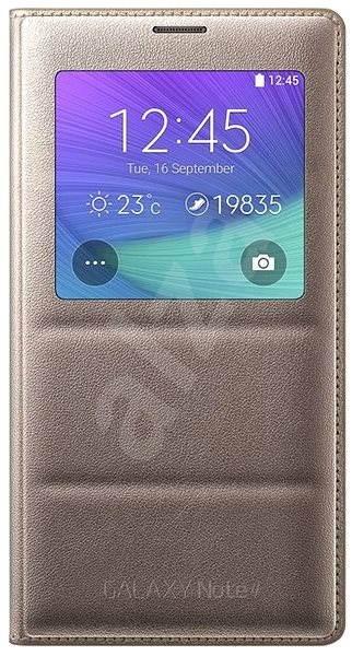 Samsung EF-CN910B zlaté - Pouzdro na mobilní telefon