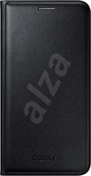 Samsung EF-WJ500B Flip Wallet pro Galaxy J5 2015 (J500) černé - Pouzdro na mobilní telefon