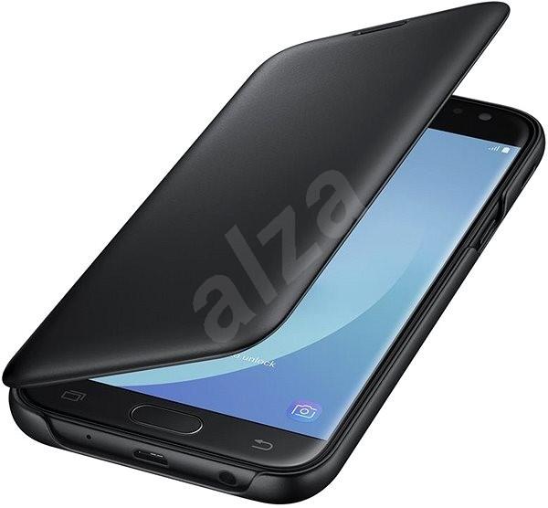 Samsung Wallet Cover Galaxy J5 (2017) EF-WJ530C černé - Pouzdro na mobil