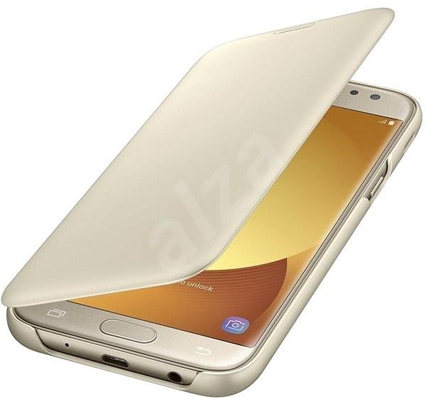 Samsung Wallet Cover Galaxy J5 (2017) EF-WJ530C zlaté - Pouzdro na mobilní 0029be48088