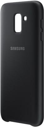 Samsung Galaxy J6 Dual Layer Cover černý - Kryt na mobil