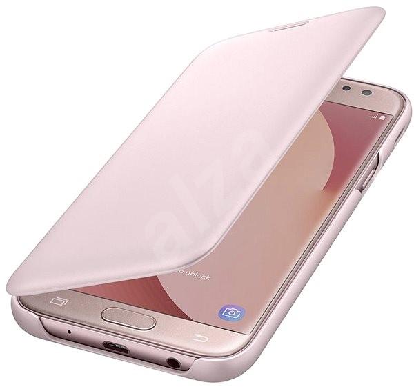 Samsung EF-WJ730C růžové - Pouzdro na mobil