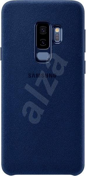 Samsung Galaxy S9+ Alcantara Cover modrý - Kryt na mobil