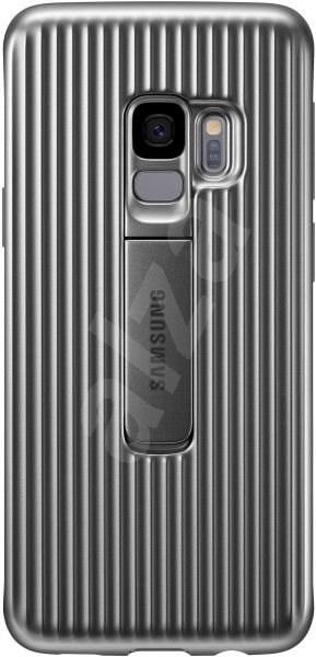 Samsung Galaxy S9 Protective Standing Cover stříbrný - Ochranný kryt ... 8ebd8b318e6