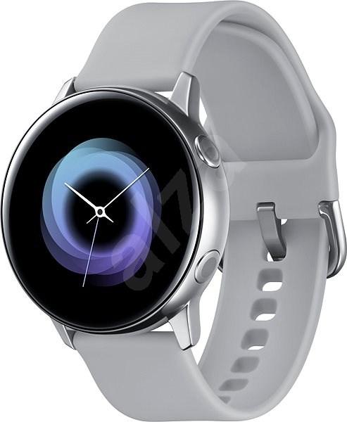 Samsung Galaxy Watch Active Silver - Chytré hodinky