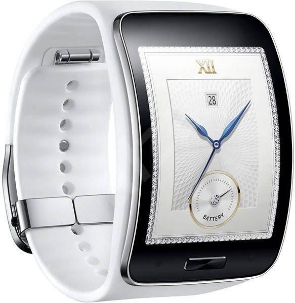 Samsung Gear S bílé - Chytré hodinky  8c8897c434