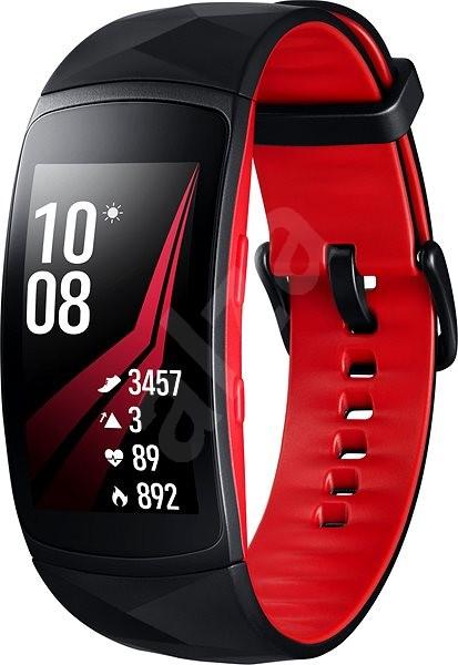 Samsung Gear Fit2 Pro Black Red - Fitness náramek