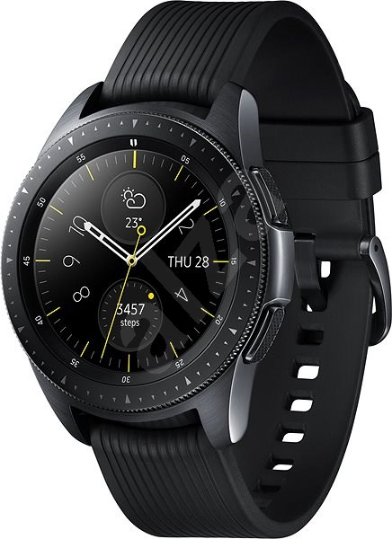 Samsung Galaxy Watch 42mm Black - Chytré hodinky  e37ff76e06