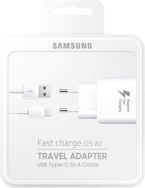 Samsung  EP-TA300C 25W charger Black - Nabíječka