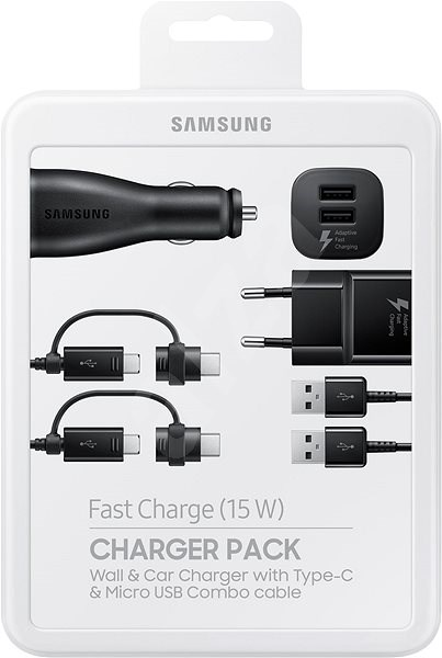 Samsung Charger Pack Černá - Set