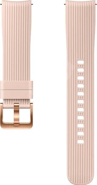 Samsung Galaxy Watch Silicone Band 20mm Růžová - Řemínek