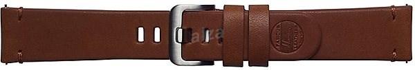 Galaxy Watch Braloba strap Classic Leather 22mm - Essex Hnědá - Řemínek