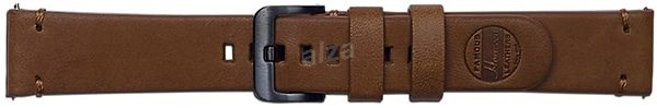 Galaxy Watch Braloba strap Classic Leather 20mm - Essex Hnědá - Řemínek
