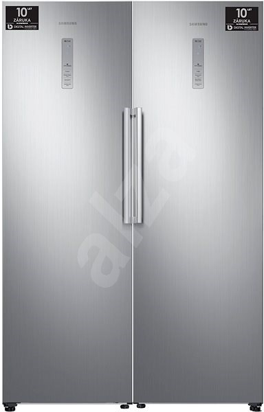 SAMSUNG RR39M7145S9 + SAMSUNG RZ32M7110S9 - Americká lednice