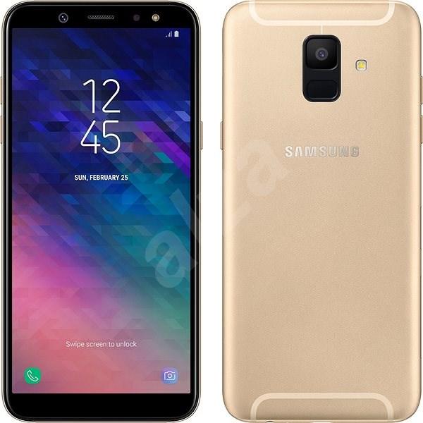 Samsung Galaxy A6 zlatý - Mobilní telefon