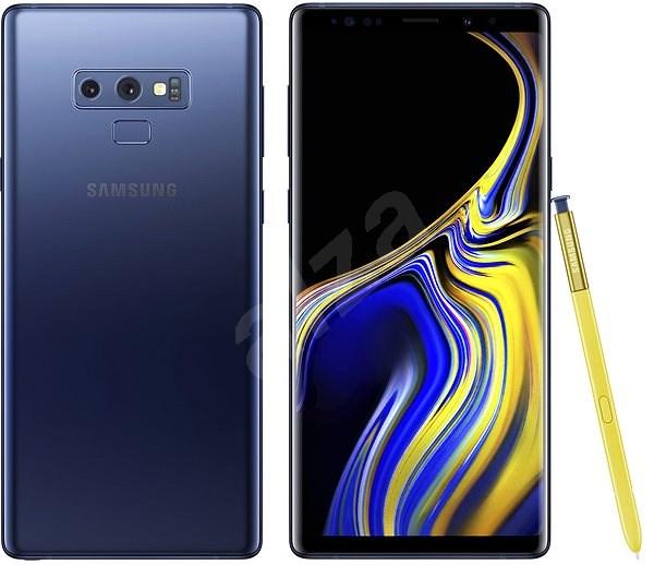 Samsung Galaxy Note9 Duos 128GB modrý - Mobilní telefon